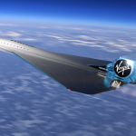 a future virgin galactic supersonic aircraft